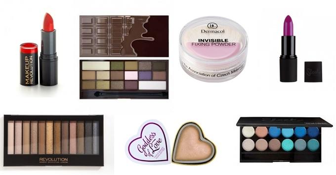 Sleek, Dermaclo, Makeup Revolution London