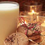 mléko, sušenky